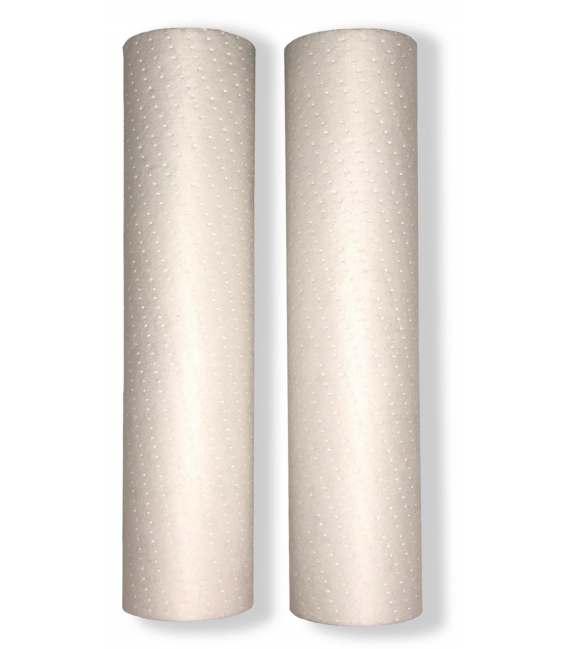 Cartouche traitement d'eau 9''3/4 10'' sediments 20 micron - LOT 2 CARTOUCHES PARTICUL-10X20