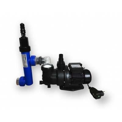 Pompe generateur uvc filtre piscine - BLUE LAGOON COMPACT4POOL