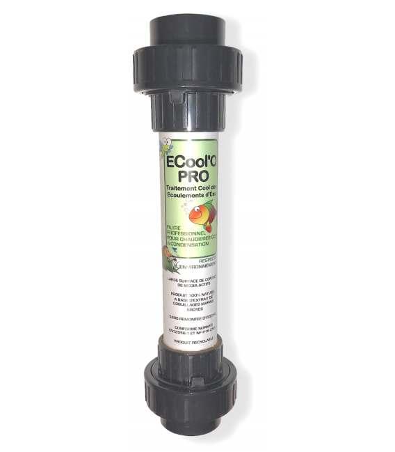 Filtre neutralisant pour chaudière gaz à condensation - FILTRE EC PRO