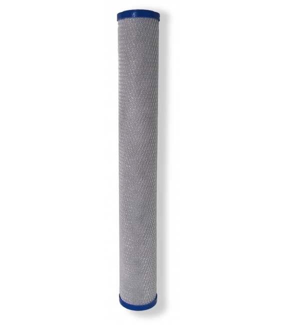 Cartouche traitement d'eau 20'' charbons actifs - CARBON-20X