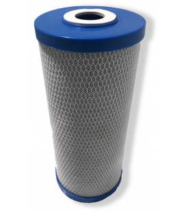 Cartouche traitement d'eau 10'' big blue charbons actifs - CARBONBIG-10X